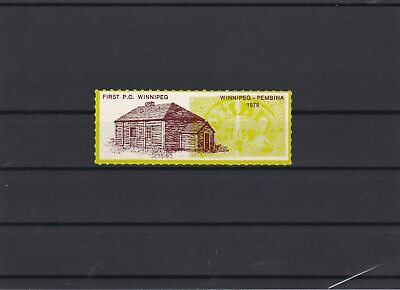 First P.O. Winnipeg Mint Never Hinged Stamp ref 22591