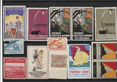 Revenue Fiscal and poster Stamps Ref 14097
