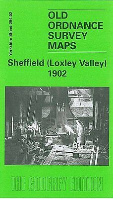 Old Ordnance Survey Map Sheffield (Loxley Valley) 1902