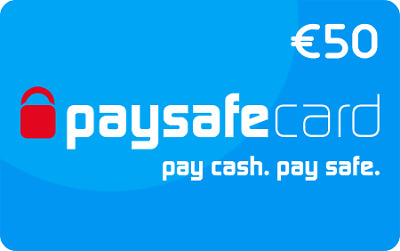 50 Euro Paysafecard / Fast Delivery / per Email
