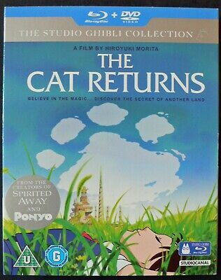 The Studio Ghibli Collection.The Cat Returns.Blu ray and DVD.