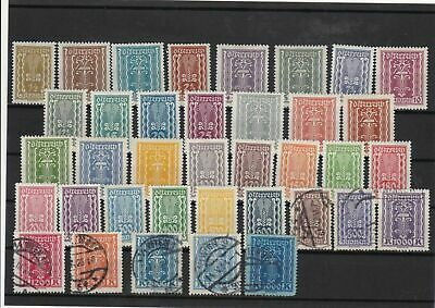 austria 1922  mounted mint + used   stamps  ref 7999