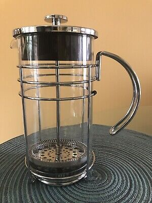 Grosche Madrid French Press Coffee Maker Tea 1.0L/34 Oz Pyrex France Cold Brew