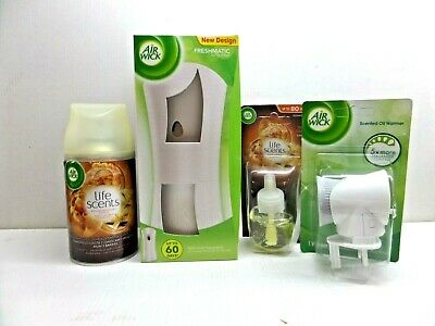 Air wick freshmatic + Plug in unit & refill Mums Baking  Collection  Pack