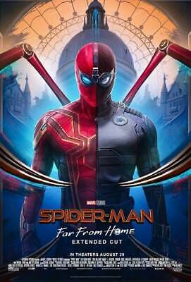 TWO $8 FANDANGO Spider-Man Far From Home Hollywood Movie Money Cash $16 off 2