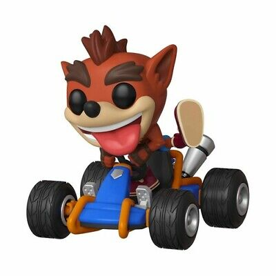 Crash Team Racing - Crash Bandicoot - Funko Pop! Rides: (2019, Toy NUEVO)