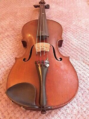 ANTIQUE 3/4 SIZE Violin  Good Playing Order  Maidstone Label