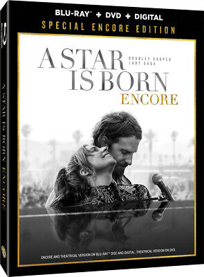 A Star Is Born: Special Encore Edition (Blu-ray + DVD + Digital Code) NEW/SEALED