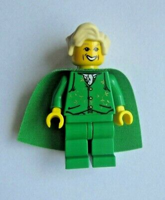 HP028 Lego Harry Potter Draco Malfoy Quidditch Slytherin No Cape from 4726 NEW