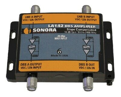 Sonora SDPI6S  6-line LNB Power Inserter Polarity Locker 5-2400 MHz w//24v 2 Amp