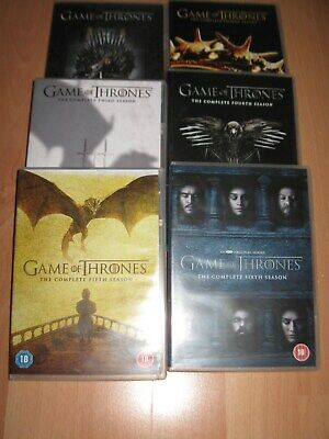 Game of Thrones Complete Season 1-6 DVD Sets - Very Good Condition