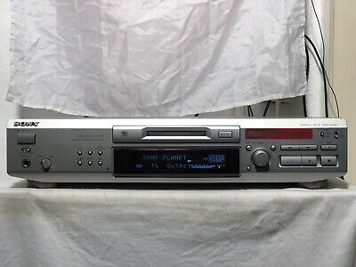 SONY MDS-JE 530 Mini Disc Player / Recorder In Silber Mit FB  Pitch Control