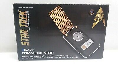 Original Series Star Trek Wand Bluetooth Communicator TOS Collector's NIB