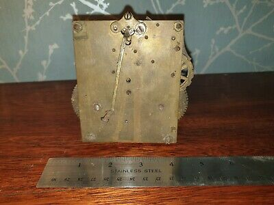 Vintage Clock Movement, Untested/ Spares or Repair, ref A15