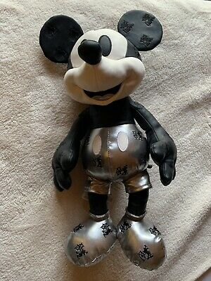 Disney Store - Mickey Mouse Memories January Plush (Steamboat Willie) - Limited