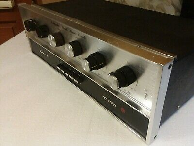CROWN IC-150 Vintage Stereo Pre-Amplifier service working hundred percent