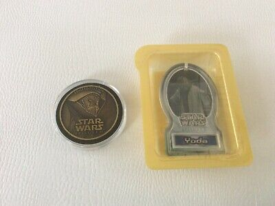 Star Wars Episode Iii Limited Edition Coin And Yoda Cereal Premium
