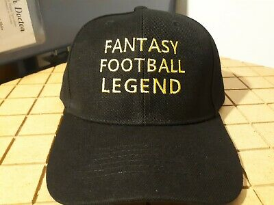 Fantasy Football Legend Embroidered Hat - Great Draft Kit Party - Trophy - NFL
