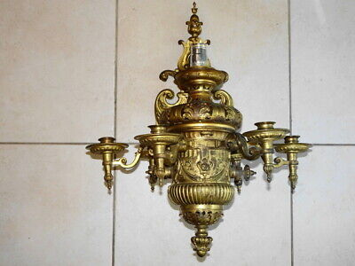 French Neoclassical Bronze Oil Sconce Partially Electrified – 27 Pictures Below