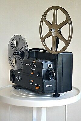 Chinon 4000 Gl Super 8 Movie Projector Dual 8 Works Great!