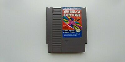 Wheel Of Fortune Junior Edition Nintendo Entertainment System Nes Tested!