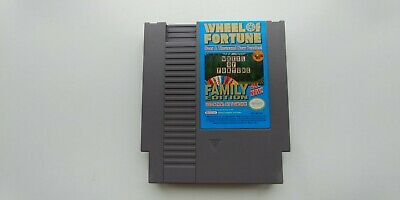 Wheel Of Fortune Family Edition Nintendo Entertainment System Nes Tested!