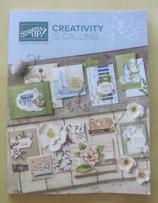 NEW 2019-20 STAMPIN' UP! IDEA BOOK Catalog + FREE BONUS 6X6 DSP + FREE SHIPPING!