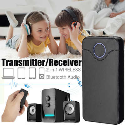 2 in 1 Bluetooth Transmitter / Receiver AUX Adapter Wireless Rechargeable Stereo