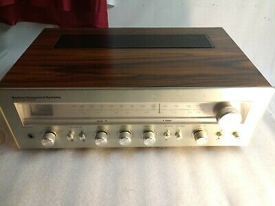 Vintage Modular Component Systems 3207 Stereo Receiver Tested Works Great.