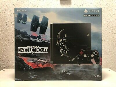 Sony PlayStation 4 PS4 500GB Limited Edition Star Wars Battlefront Console