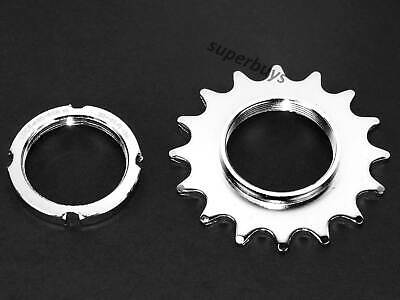 16T Single Speed Bicycle Track Cog Bike Fixed Cassette Sprocket Chain Ring