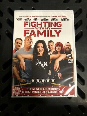Fighting With My Family [DVD] RELEASED 01/07/2019 New And Sealed