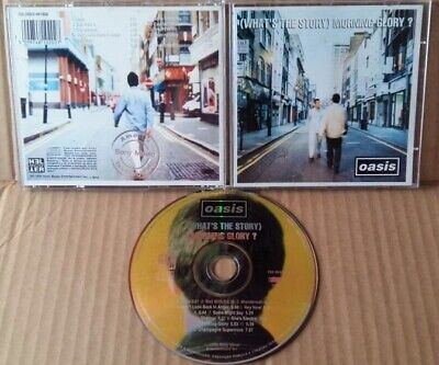 OASIS What's The Story M Glory CD 1st Press Sony Music BRAZIL Silver PROMO STAMP