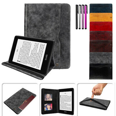 Smart Flip Case Wallet Stand Cover For Amazon Kindle Paperwhite 4 2018 10th Gen