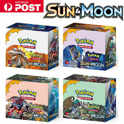 324pcs 36 Packs Pokemon Cards GX Booster Box Ultra Rare Platinum English Edition