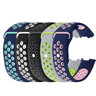 Replacement Silicone Wrist Strap Band Sport Edition For Fitbit Charge3 Bracelet
