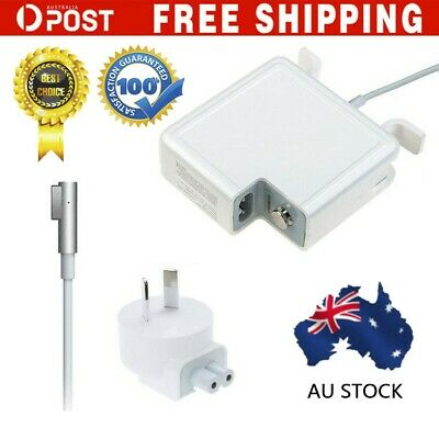 AU STOCK 45W 60W 85W AC Power Adapter charger L-tip Macbook
