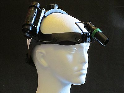 Dental LED headlamp surgical headlight - 6 hour battery life - NO TRAILING WIRES