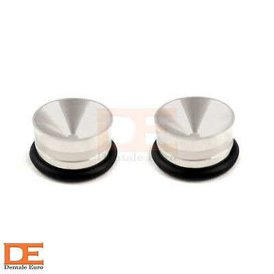 Set Of 2 Dental Amalgam Well Restorative Bone Mixing Surgical Non Slip Amalgam