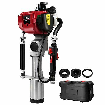 New GIANTZ 4 Stroke Petrol Post Driver Power Pile Hole Drive Picket Rammer Fence