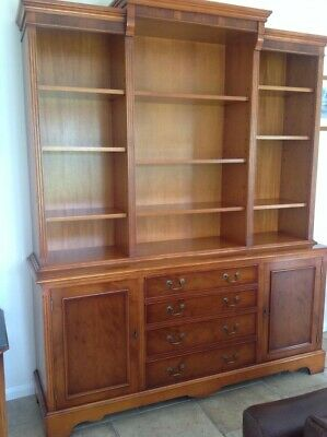 Genuine Bradley's Solid wood Bookcase In Excellent Condition