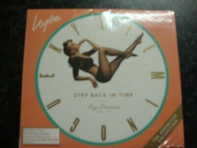 Kylie Minogue - Step Back In Time Double CD Album. ** BRAND NEW/SEALED **