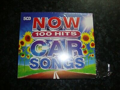 NOW 100 HITS CAR SONGS 5 CD - Various Artists.  ** BRAND NEW/SEALED **