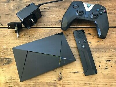 NVIDIA SHIELD TV - 4K HDR Media Streamer 16gb with games controller and remote
