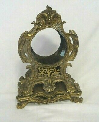 OrnateAntique brass clock case for 3.5inch clock   RW