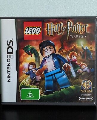 LEGO Harry Potter Years 5-7 Nintendo DS DSi 3DS Game (PAL) - Complete