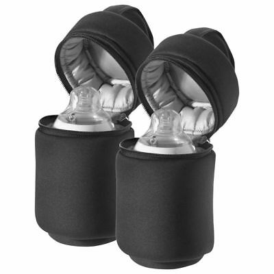 2 pack Tommee Tippee Insulated Bottle Bags Designed for closer to nature bottles