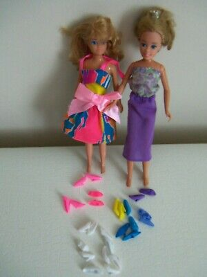 Barbie+Friends Princess doll + other small sized dolls - Barbie dress + Shoes
