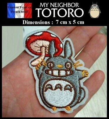 Écusson Brodé Thermocollant NEUF ( Patch Embroidered ) - Manga Totoro ( Ref 4 )
