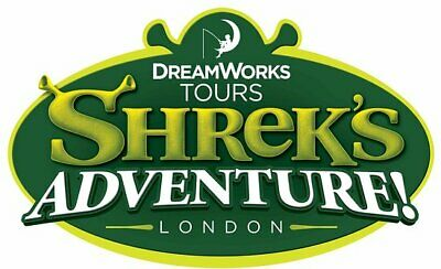 **code for two tickets to Shrek's Adventure! London OR the London Dungeon **